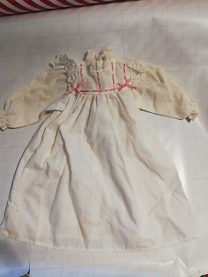 "Nightgown Pajamas American Girl or 18"" doll clothes outfit original Used"
