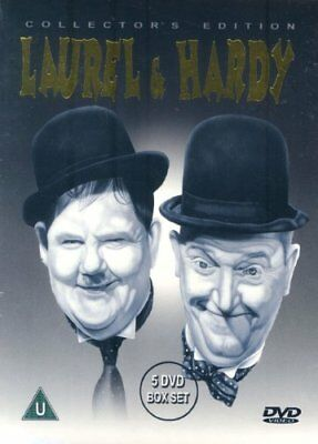 Laurel And Hardy - Collector's Edition (Box Set) (Five Discs) (DVD) -  CD 0ULN