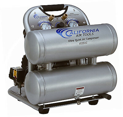 California Air Tools 4620AC Ultra Quiet, Oil-Free & Powerful Air Compressor