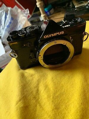 Olympus OM-1N BLack 35mm SLR Body Only ; Stripped ; Carcass ! For Display !