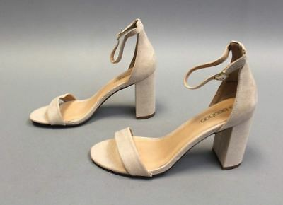 3b40a1135779 BOOHOO WOMENS EXTRA Wide Fit Suedette Block Heels Size 8US 6UK ...