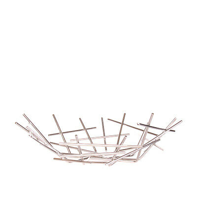 ALESSI Blow Up Basket in Stainless Steel 18/10 Designed by Fratelli Campana