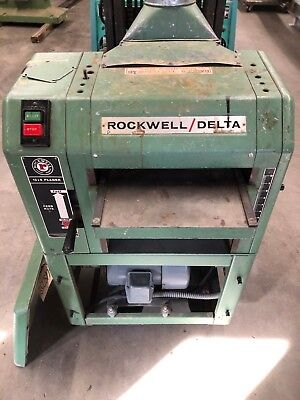 "Rockwell / Delta Thickness Planer  22-401  13"" x 6"" Variable Speed Planer"