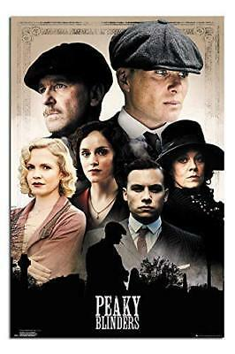 PEAKY BLINDERS - CAST POSTER 24x36 - TV SHOW 160803