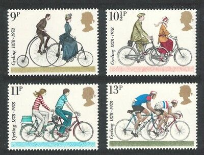 Great Britain Cycling Touring Club Centenary 4v MNH SG#1067-1070 SC#843-846 FREE