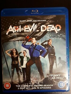Ash vs Evil dead - Season 2 Region B Blu ray set UK IMPORT 2 disc set