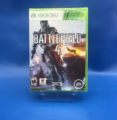 Battlefield 4 Xbox 360 Brand New Factory Sealed