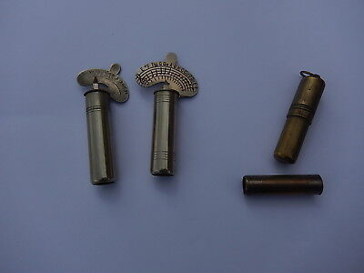 Rare Lot Of 3 Old Tuning Forks, 2 Chromatics