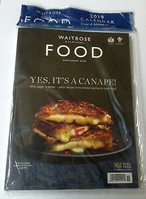 Waitrose Food Magazine – November 2018, Yes, it's a canapé!