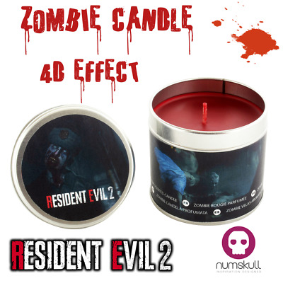 Resident Evil 2 EUROPE ONLY Zombie Scented Candle RE 2 MERCHANDISE by Numskull