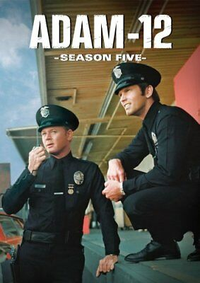 ADAM-12 SEASON 5 New 4 DVD Set Adam 12
