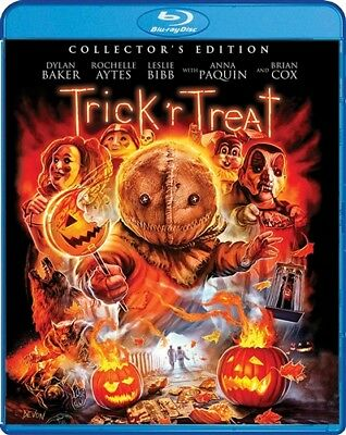 TRICK R TREAT New Sealed Blu-ray Collector's Edition