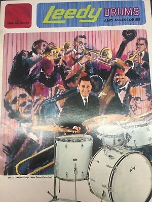 Leedy Drums and Accessories Catalog N0. 70 1965