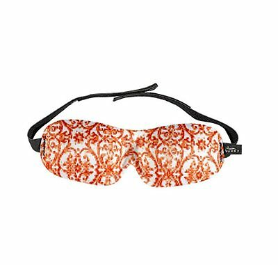 NEW! Bucky 40 Blinks Sleep Sleeping Blindfold Eye Night Mask DAMASK