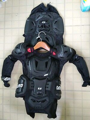 Leatt Adventure 5.5 Body Protector Armour  Black SM/MED MX used once near new