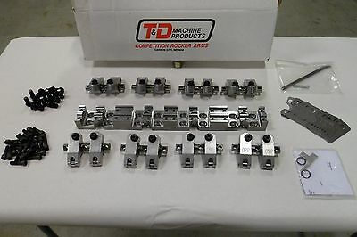 T and D Rocker Arm Assembly for SBC 10001 60/60