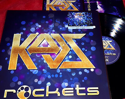 Rockets - Kaos - Lp Vinile Nero / Black Vinyl -  250 Copie Numerato Su Sticker
