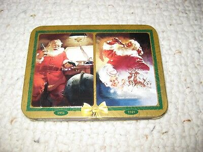 2 Deck Set Coca-Cola Nostalgia Playing Cards Nib Unopened