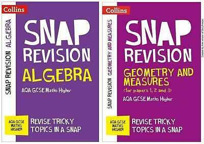 Snap Aqa Maths 9-1 Higher Revision Notes Geometry Algebra Targeted Learning