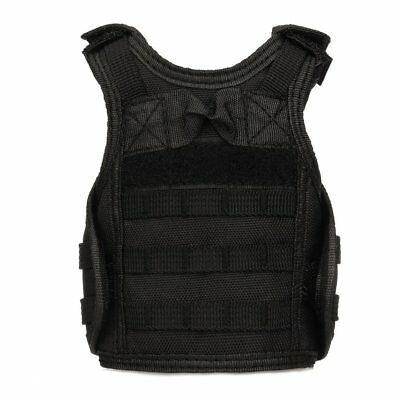 Molle Mini Miniature Vests Beverage Cooler Cover Adjustable Shoulder Straps R%