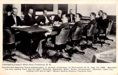 Portsmouth, New Hampshire - Russian & Japanese Peace Ambassadors - in 1905