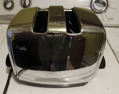 Vintage 50's Sunbeam T-20B Art Deco Toaster - 1950s, auto feed, and still works!