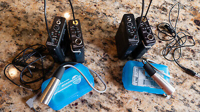 Lectrosonics LMa Lavalier and ucr100 block 21 and block 24