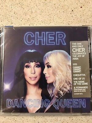 Cher: Dancing Queen (CD, 2018, Warner Bros) Fernando, Gimme Gimme, SOS - NEW!