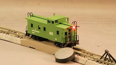 MicroTrains Cupola Caboose Maint of Way Green with End of Train LED