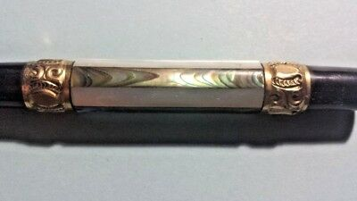 Rare Antique Fountain Pen    ABALONE/MOTHER OF PEARL  (NO CAP)