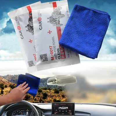 5B90 30x30cm Clean Towel Interior Side Windows Universal Anti-Fog Towel