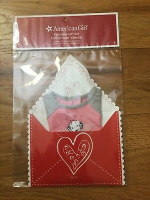 American Girl Valentine Gift Set For Dolls New Dalmatian Puppy T