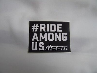 ICON Motorcycle Equipment Collectible Decal or Sticker