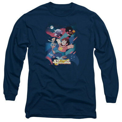 Steven Universe Group Shot Mens Long Sleeve Shirt