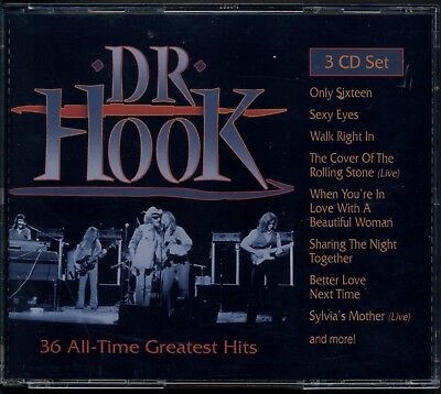 HOOK - Dr. Hook: 36 All-time Greatest Hits 3 CD SET Like New