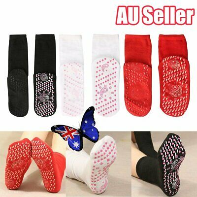 Self-Heating Body Care Warm Socks Magnetic Therapy Breathable Massage JO