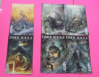 Dark Souls Age of Fire Winter's Spite #1,2,3,4 Legends of The Flame comic 12 Lot