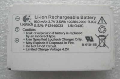 R-IG7 Battery for Logitech Harmony One 900 880 890 720 Y-RAY81 Remote