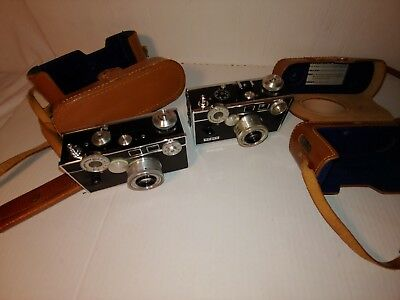 2 Vintage Argus C3 35mm Film Cameras. Nice one family-owned well taken care of