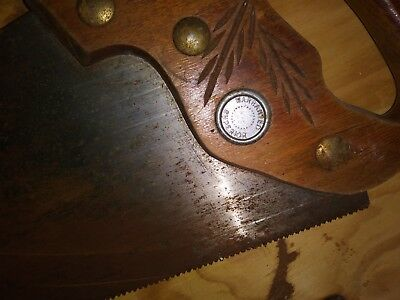 Vintage Hand Saw, Certified Quality Wizard Western Auto Supply
