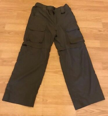 118 Boy Scouts Of America BSA Switchback Youth Large Green Pants