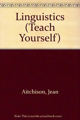 Linguistics (Teach Yourself) by Aitchison, Jean Paperback Book The Cheap Fast