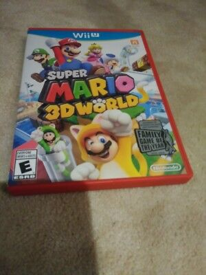 Super Mario 3D World Family Game Of The Year Wii U