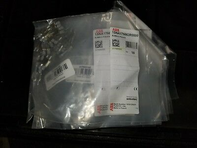 NEW BAG of 10 - ABB 1SNA176663R0000 BJMI6-2 POLES Jumper Bars - 120 Available