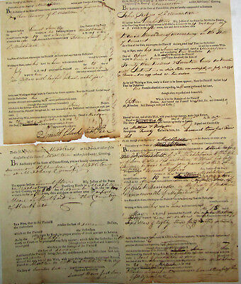 Early American Document Collection  Connecticut 1809 Revolutionary War Soldiers