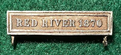 Authentic VINTAGE RED RIVER 1870 Bar to the Fenian Raid Medal
