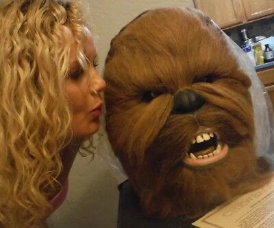 1996 ☆ STAR WARS ☆ ILLUSIVE CONCEPTS ☆ CHEWBACCA BUST ☆ w/ COA ☆ ONLY 7,500 MADE