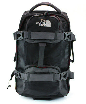 "The North Face Long Haul Traveling Wheeling Bag Gray Black Carry On Bag 25""X16"""