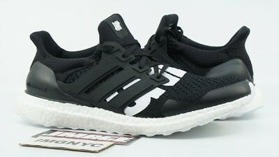 new concept 8ec33 91759 ADIDAS ULTRA BOOST 4.0 Ltd Used Size 9 Undefeated Undftd Black White B22480