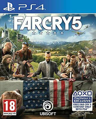 Far Cry 5 (PS4) - Game  65VG The Cheap Fast Free Post